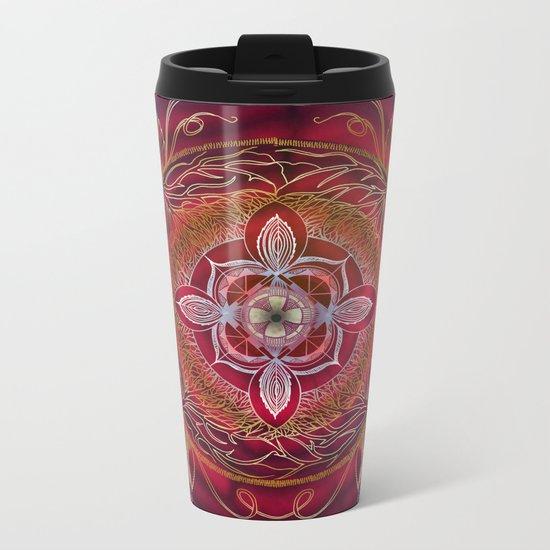 Root Chakra Metal Travel Mug