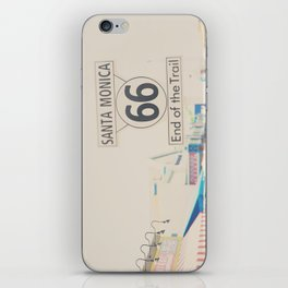 the end of route 66 ... iPhone Skin