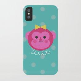 Dressy Monkey iPhone Case