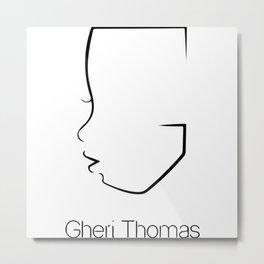 Gheri Thomas Logo Metal Print