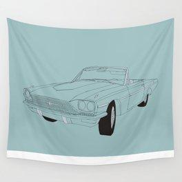1966 Ford Thunderbird Wall Tapestry