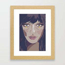 I am and I am not (Vacancy Zine) Framed Art Print