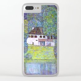 "Gustav Klimt ""Schloss Kammer on the Attersee III"" Clear iPhone Case"