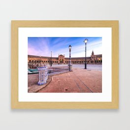 Plaza de España, Sevilla, Spain 3 Framed Art Print