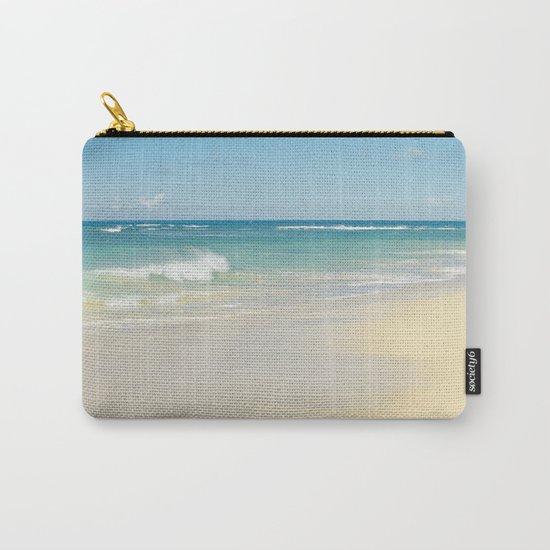 Beach Love the Secret Heart of Wonder Carry-All Pouch