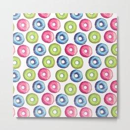 Donuts 2 Metal Print