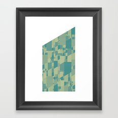 Saltwater Peak Framed Art Print