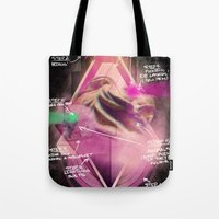 blueprint Tote Bags featuring Epic Blueprint by Ramsay Lanier