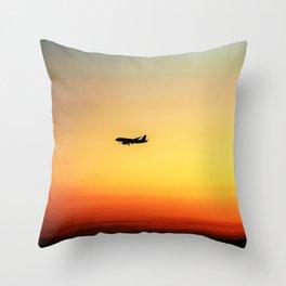 Bon Voyage! Throw Pillow