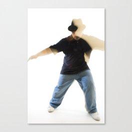 dancer #1 Canvas Print