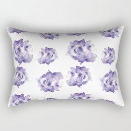 Purple Roses Rectangular Pillow
