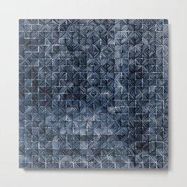 Ink Stitch: Sapphire Blue (dark) Metal Print