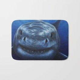 white pointer shark Bath Mat