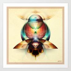 Life Totem Art Print