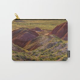Warm evening light at Painted Desert Carry-All Pouch