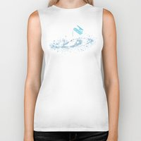 milky way Biker Tanks featuring The Milky Way by Picomodi