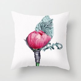 Boutonniere Throw Pillow