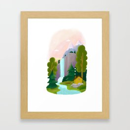 Lands Framed Art Print