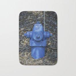 Waterous Blue Bath Mat