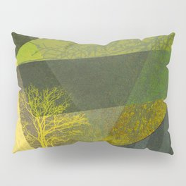 P24-2b Trees and Triangles Pillow Sham
