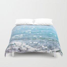 sparkling sea Duvet Cover