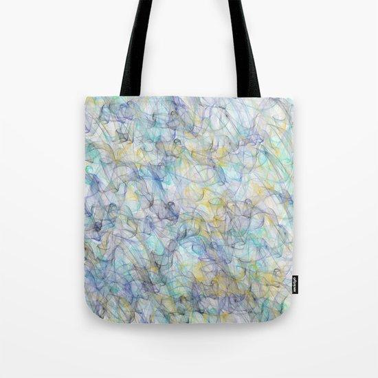 Smoke pattern Tote Bag