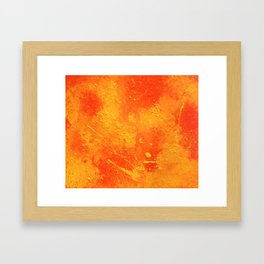 Abstract Painting tapestry Framed Art Print