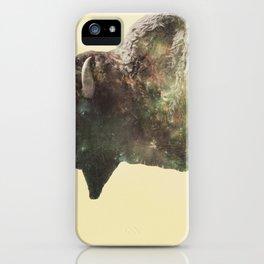 Surreal Buffalo iPhone Case