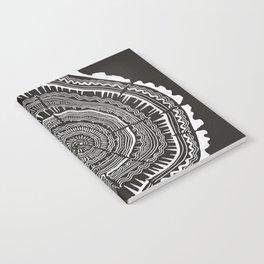 Growth Rings – 65 Years – Black Notebook