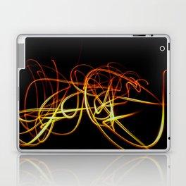 Abstract orange light effect Laptop & iPad Skin
