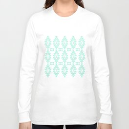 Mint Geo Long Sleeve T-shirt