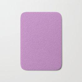 Dense Melange - White and Purple Violet Bath Mat