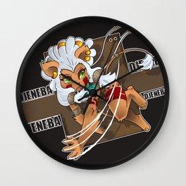 Chibi Djeneba Wall Clock
