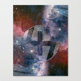 """Capital Steez """"KING OF THE GALAXY"""" Canvas Print"""