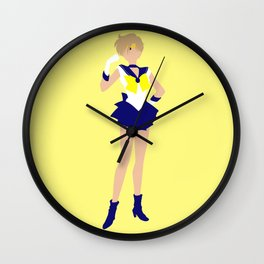 Sailor Uranus (Yellow) Wall Clock