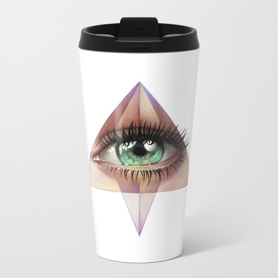 Eye of Providence Metal Travel Mug