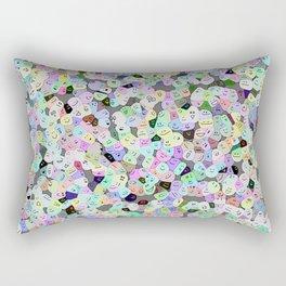 Frooty Faces Rectangular Pillow