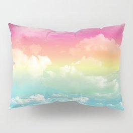 Clouds in a Rainbow Unicorn Sky Pillow Sham