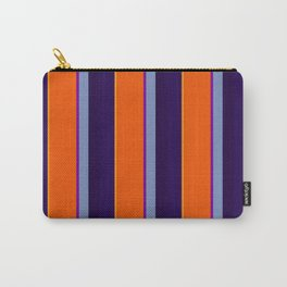 Verticle Stripes Carry-All Pouch