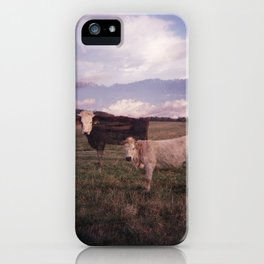 Two Cows iPhone Case