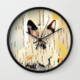 Written in Kitten Wall Clock