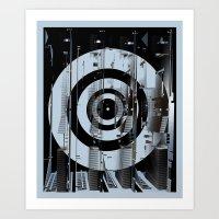 TERROR.TARGET OPERATION Art Print