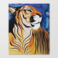 Golden Tiger Canvas Print