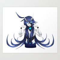 android Art Prints featuring Android by lazylogic