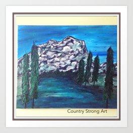 """ Keep Climbing"" Art Print"