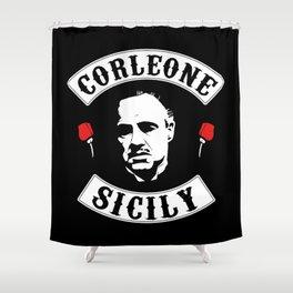 Vito Corleone - The Godfather Shower Curtain