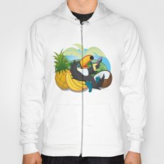 Tropical toucan Hoody