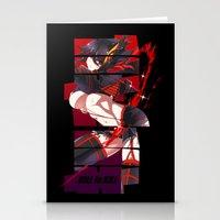 kill la kill Stationery Cards featuring Kill La Kill by feimyconcepts05