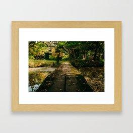 Usa Shrine Bridge Framed Art Print
