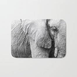 Elephant Wrinkles Bath Mat